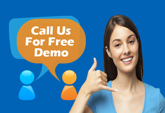 call us for free demo